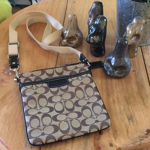 Coach Mini Crossbody in Classic Coach Pattern